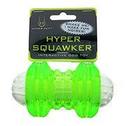 Hyper Pet Hyper Squawker Bone Interactive Dog Toy