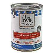 I and Love and You Beef Booyah Stew Dog Food