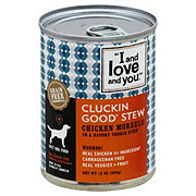 I and Love and You Cluckin Good Stew Dog Food