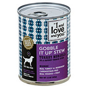 I and Love and You Gobble It Up Stew Dog Food