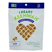 I Heart Keenwah Almond Quinoa Cluster