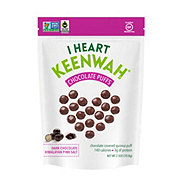 I Heart Keenwah Dark Chocolate Puffs Himalayan Pink Salt