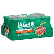 Iams Ground Chicken & Rice Dog Food, 6 ct