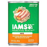 Iams ProActive Health Pate with Chicken & Whole Grain Rice Wet Dog Food