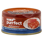 Iams Purrfect Delicacies Flaked Tuna & Salmon Cat Food