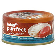 Iams Purrfect Delicacies Oceanfish And Tuna Cat Food