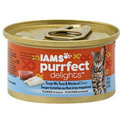 Iams Purrfect Delights Tempt Me Tuna & Mackerel Cat Food