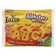 Ian's Alphatots Alphabet Shaped Potato Fries