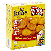 Ians Popcorn Turkey Corn Dogs