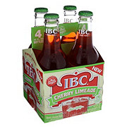 IBC Cherry Limeade 12 oz Bottles