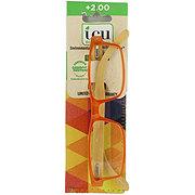 Icu Eyewear Women's Reading Glasses +2.00