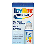 Icy Hot No Mess Applicator Maximum Strength Pain Relieving Liquid