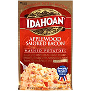Idahoan Applewood Smoked Bacon Flavored Mashed Potatoes