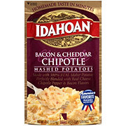 Idahoan Bacon and Cheddar Chipotle Mashed Potatoes
