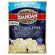 Idahoan Butter And Herb Mashed Potatoes