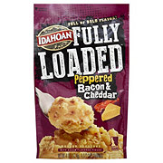 Idahoan Fully Loaded Peppered Bacon Cheddar Mashed Potatoes