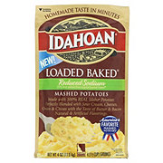 Idahoan Loaded Baked Reduced Sodium Mashed Potatoes