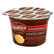 Idahoan Microwaveable Loaded Baked Flavored Mashed Potatoes