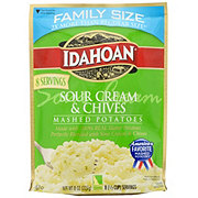 Idahoan Sour Cream And Chives Mashed Potatoes