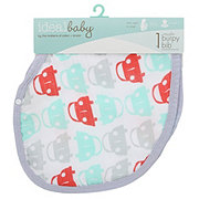 Ideal Baby Cars Muslin Burpy Bib