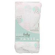 Ideal Baby Owl Muslin Swaddle