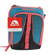 Igloo Peach and Blue Vertical Lunch Kit