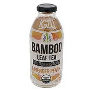 Igzu Bamboo Leaf Tea Lavender Peach