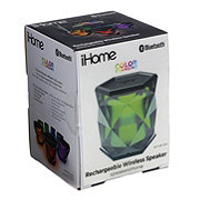 iHome Color Changing Bluetooth Rechargeable Wireless Speaker