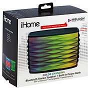 iHome Splashproof Bluetooth Speaker With Speaker Phone