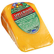 Ilchester Brutush Applewood Smoked White Cheddar Cheese, sold by the