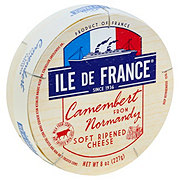 Ile De France Camembert from Normandy Soft Ripened Cheese