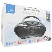 iLive Bluetooth CD Radio Portable Boombox, Ibc233b