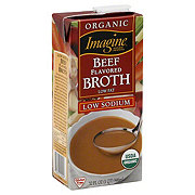 Imagine Natural Creations Organic Beef flavored broth, low fat