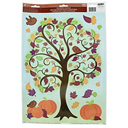 Impact Innovations Fall Harvest Classic Window Clings, Assorted Designs