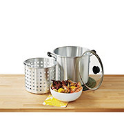 IMUSA Steamer With 21 qt Basket and Lid