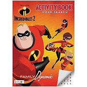 Incredibles Jumbo Color And Activity Book