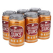 Independence Oklahoma Suks American Amber Ale Beer 12 oz  Cans