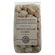 India Tree European Style Brown Sugar Cubes from Mauritius