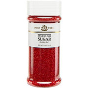 India Tree Sparkling Holiday Red Sugar
