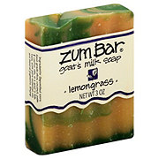 Indigo Wild Lemongrass Zum Bar Goat's Milk Soap