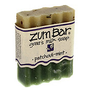 Indigo Wild Patchouli Mint Zum Bar Goats  Mild Soap