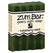 Indigo Wild Rosemary-Mint Zum Bar Goat's Milk Soap