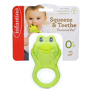 Infantino Squeeze & Teethe Textured Pal