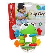 Infantino Topsy Turvy Flip Frog Rattle
