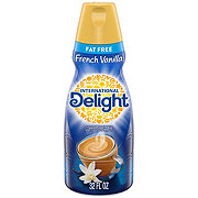 International Delight Fat Free French Vanilla Liquid Coffee Creamer