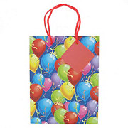 International Greetings Medium Gift Bag Balloons