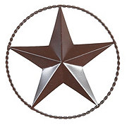 Interpro Twisted Wire Ring Star, 9 inches