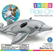 Intex Inflatable Dolphin Ride On Float