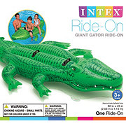 Intex Inflatable Giant Gator Ride-On