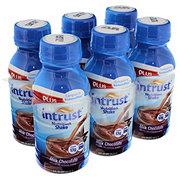 Intrust Plus Nutrition Shake, Milk Chocolate 6 PK